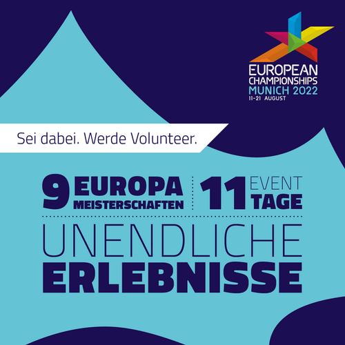 Volunteers für EM 2022 gesucht